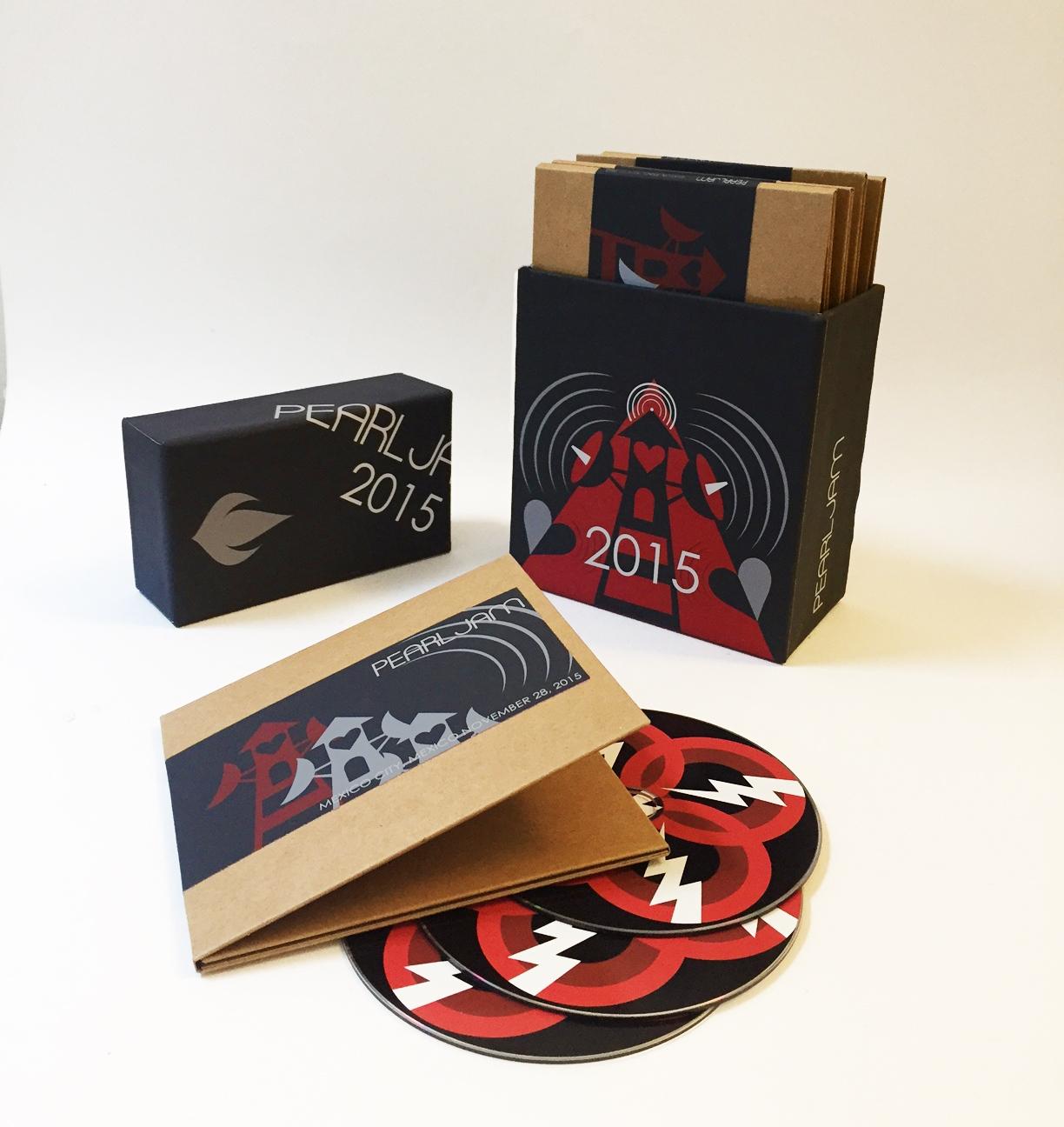 Pearl Jam 2015 Pearl Jam Bootleg Box Set Shop