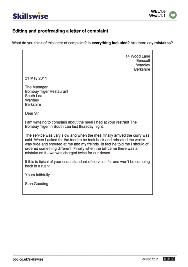 Complaint letter service 17 best images about sample complaint complaint letter example bad service cv and resume complaint letter example bad service an example complaint altavistaventures Image collections