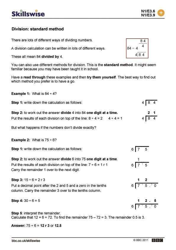 standard method - star method resume