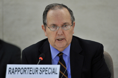 Relator Especial da ONU sobre a tortura, Juan. E. Méndez. Foto: ONU/Jean-Marc Ferré.