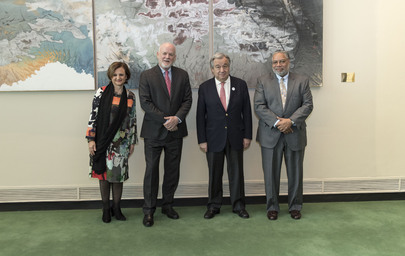 Assembly President, Secretary-General Meet Head of National African American Museum