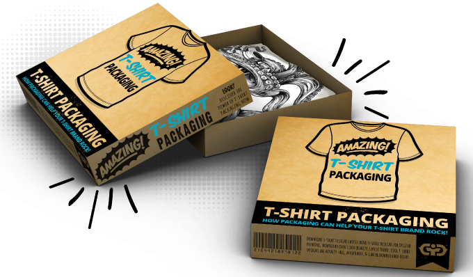 Cool and Creative T-shirt Packaging Designs / download t-shirt design - creative packaging ideas