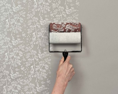 Can you paint over wallpaper