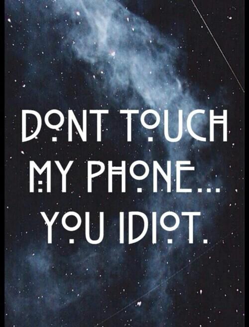 Dont Touch My Laptop Hd Wallpaper Don T Touch My Phone Wallpaper Downloadwallpaper Org
