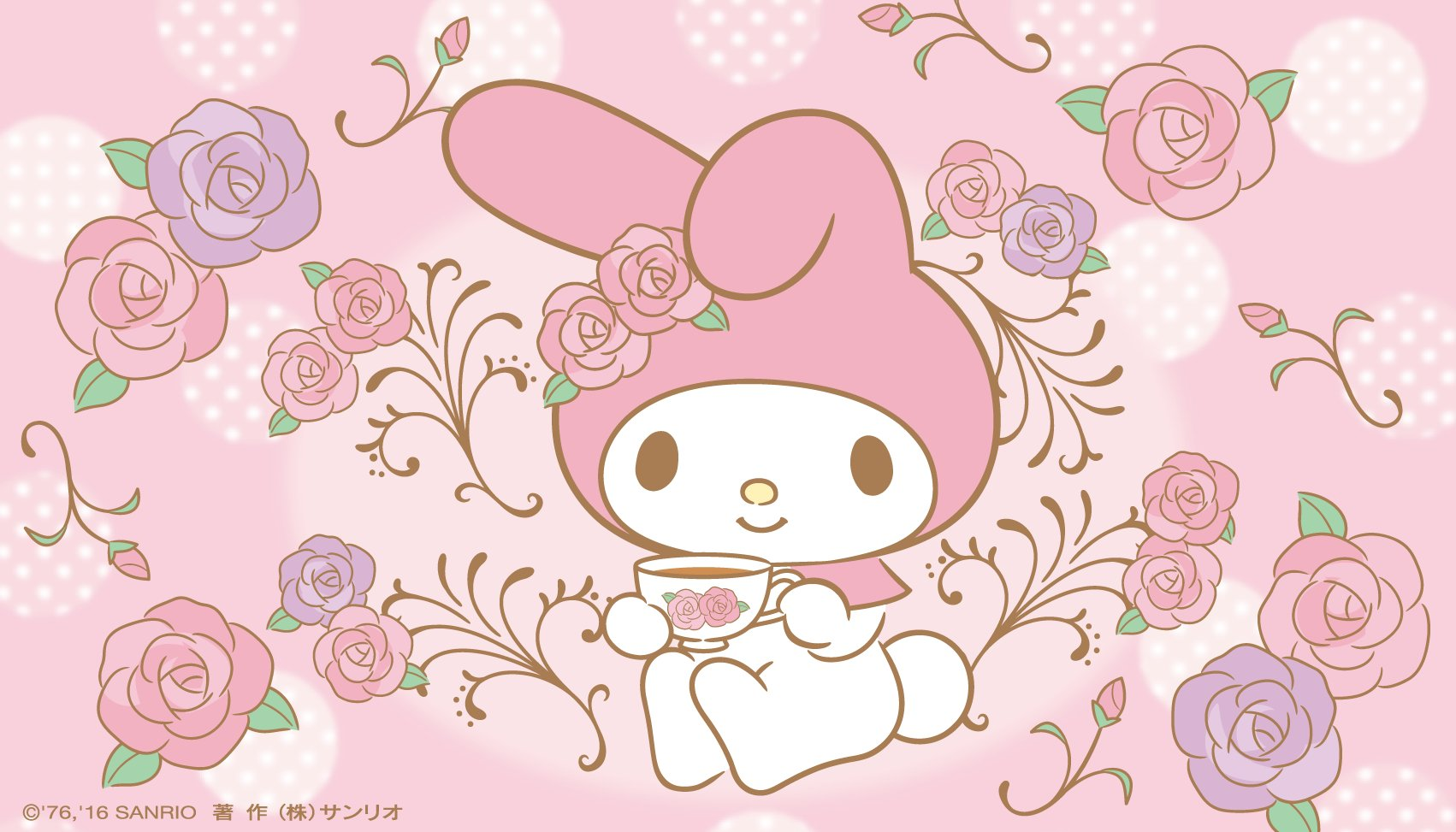 Hd Live Wallpaper For Tablet My Melody Wallpaper Wp5801981 Downloadwallpaper Org