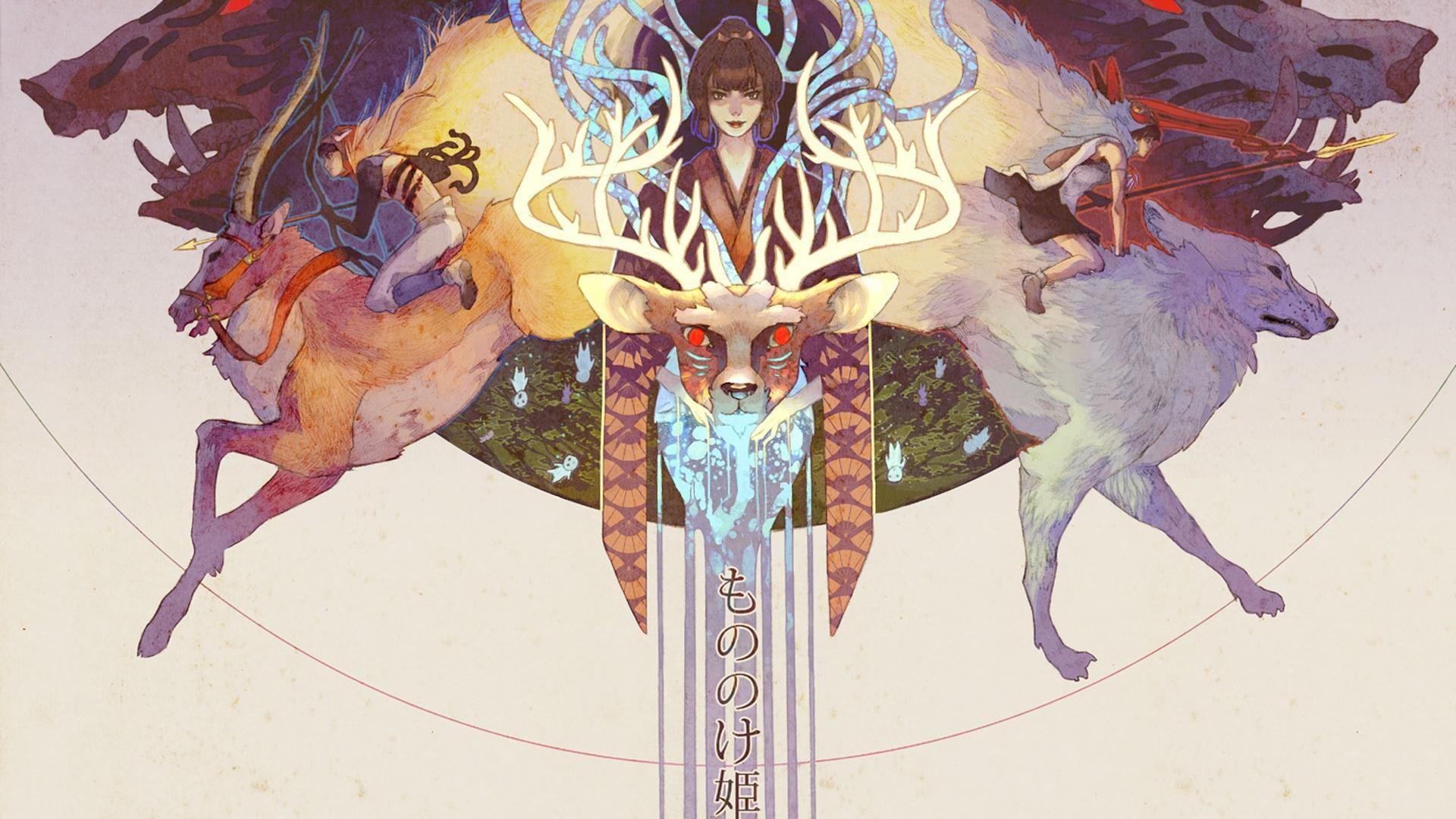 Princess Wallpaper For Girls Princess Mononoke Wallpaper Downloadwallpaper Org