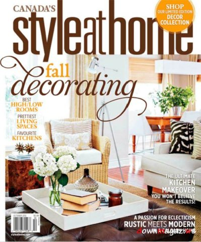 Style at Home Magazine October 2012 » Download PDF magazines - Magazines Commumity!