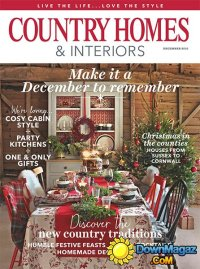Country Homes & Interiors - December 2016  Download PDF ...
