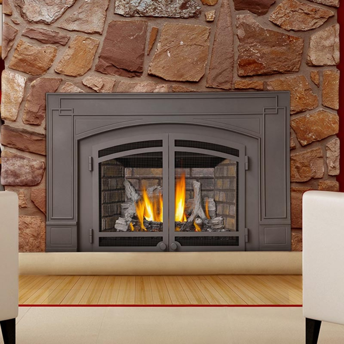 Propane Fireplace Inserts Xir3 Insert Down Right Cozy