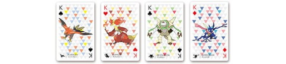 pokemon playing cards-kings