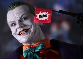The Joker - Bang Gun - Batman (1989), Jack Nicholson
