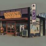Souvenir Shop (Sunset Overdrive Concept Art)