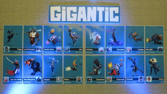 Gigantic Entire Character List - PAX East 2015