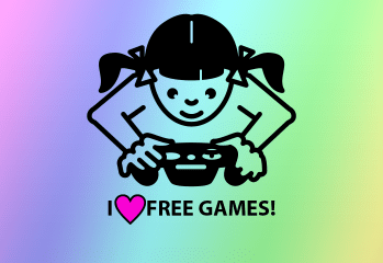 Gamer Girl Loves Free Games