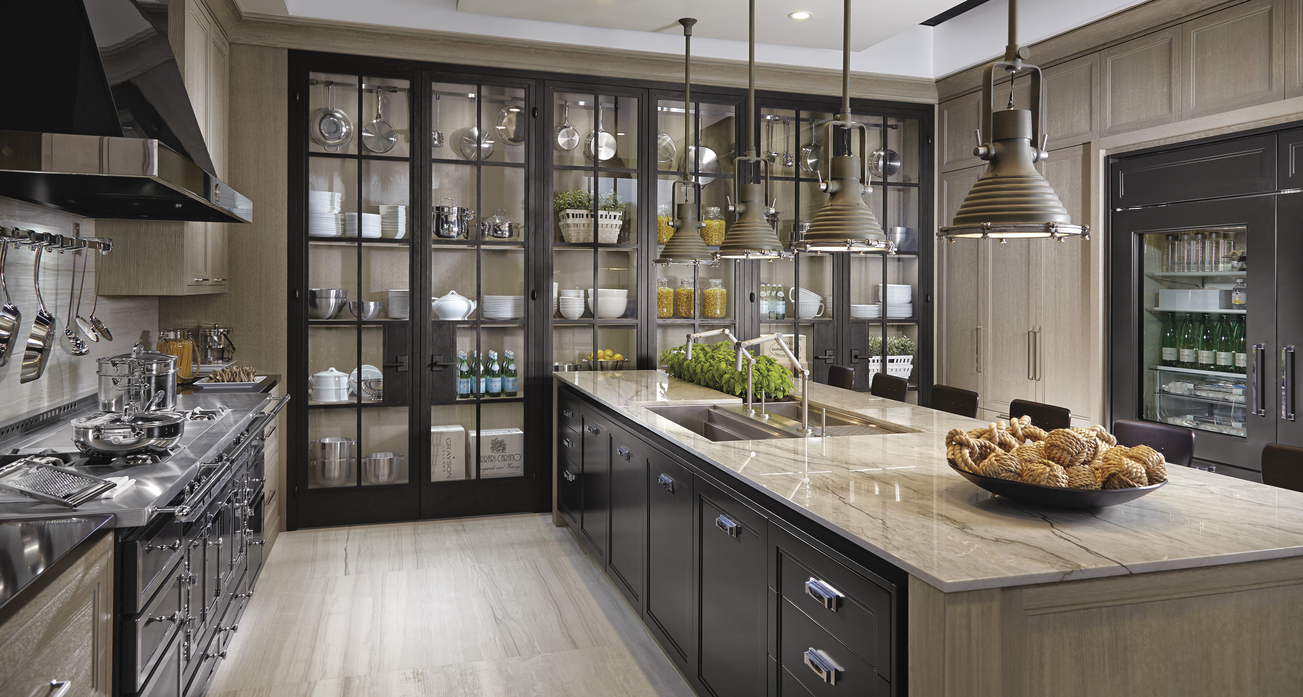 Custom Kitchen Cabinets And Countertops Industrial Chic - Downsview Kitchens And Fine Custom