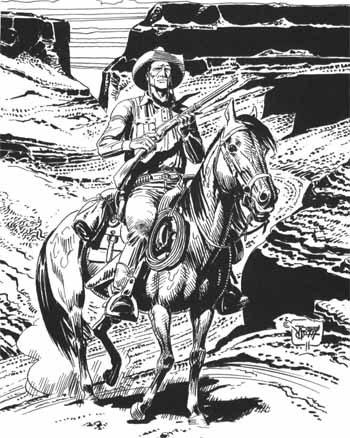 Tex by José Ortiz