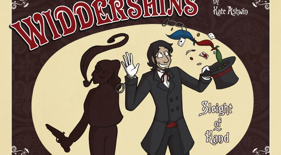 Awesome Comics Podcast Episode 43 – Kate Ashwin and Widdershins!