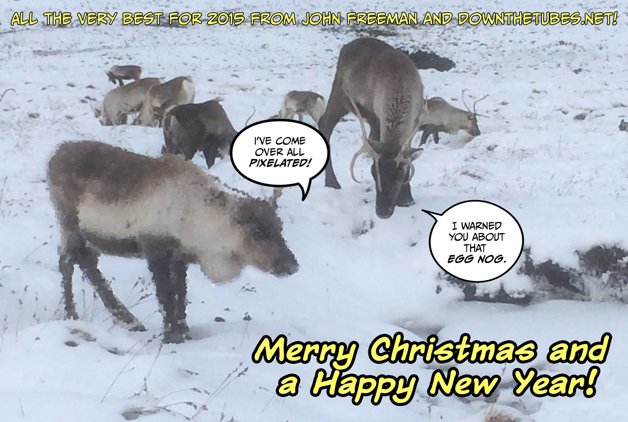 Merry Christmas and Happy New Year to All Our Readers!