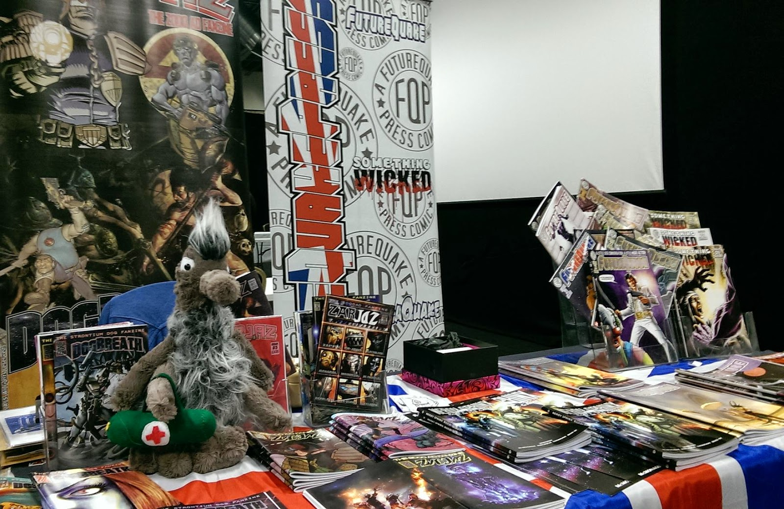 A View from Behind The Table: Futurequake at the Birmingham Comics Festival