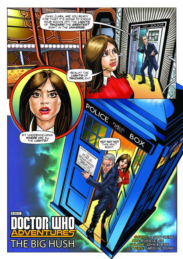 "Doctor Who Adventures #2 - ""The Big Hush"""