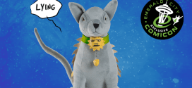 Saga's Lying Cat talking toy launched