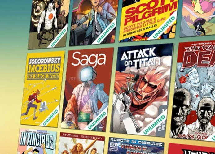 ComiXology Unlimited, Digital Comics Subscription Service, Launched in US