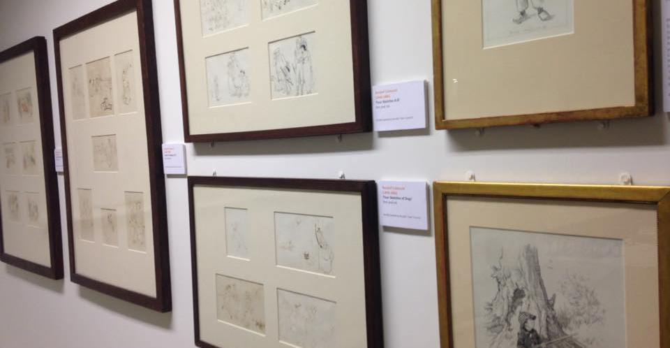 """Bryan Talbot's """"One Bad Rat"""" artwork on display as part of Beatrix Potter exhibition"""