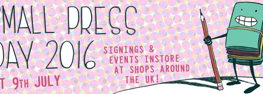UK Small Press Day Coming Soon!