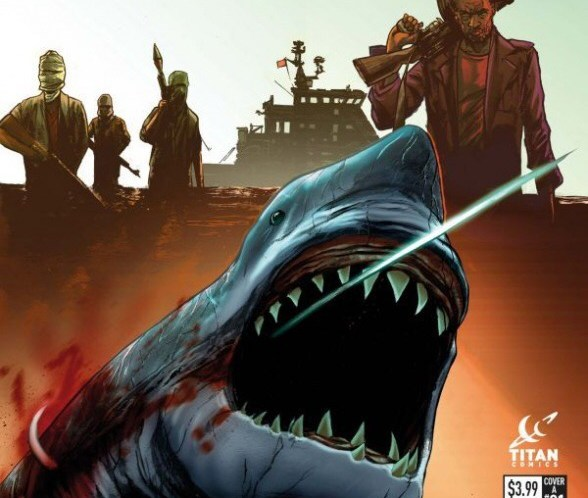 Hookjaw is back – and Titan Comics has snagged him!