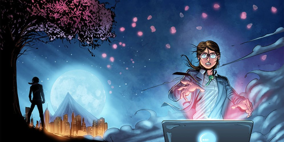 Creating Comics: Comic Artist Amrit Birdi talks Username: Evie – And Beyond