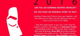 Graphic Short Story Prize 2016 Launches