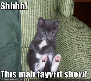 funny-pictures-kitten-watches-tv