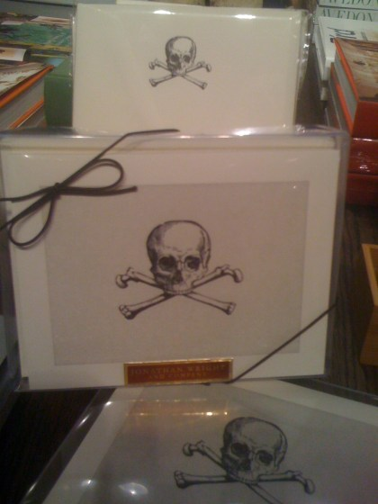 Skull & Bones Stationary