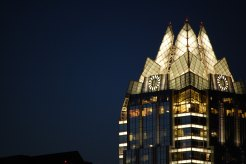 Crown of Frost Bank at dusk