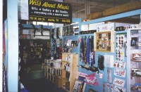 The Wild About Music booth inside Bluebonnet Market