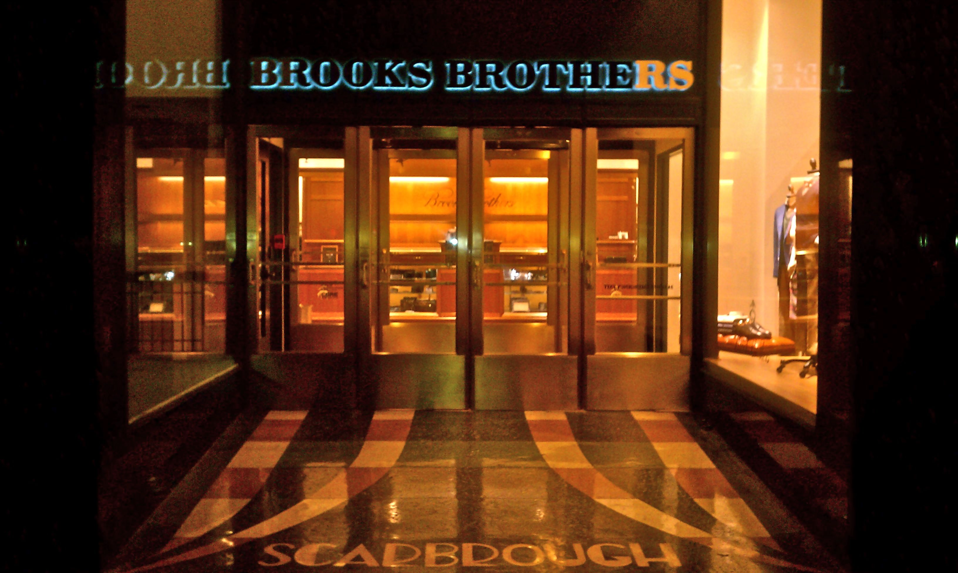 Brooks Brothers Brings Back The Brass