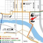 A Smarter Route? Proposed Urban Rail Along Trinity Street