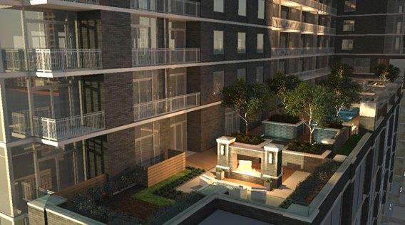 Whitley Austin Apartments - Pool Deck