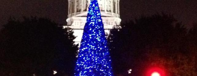 Big New Capitol Tree Lighting Tonight!