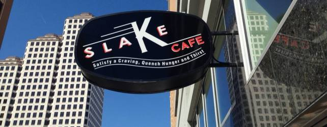 Slake Cafe in Downtown Austin – No Muss No Fuss