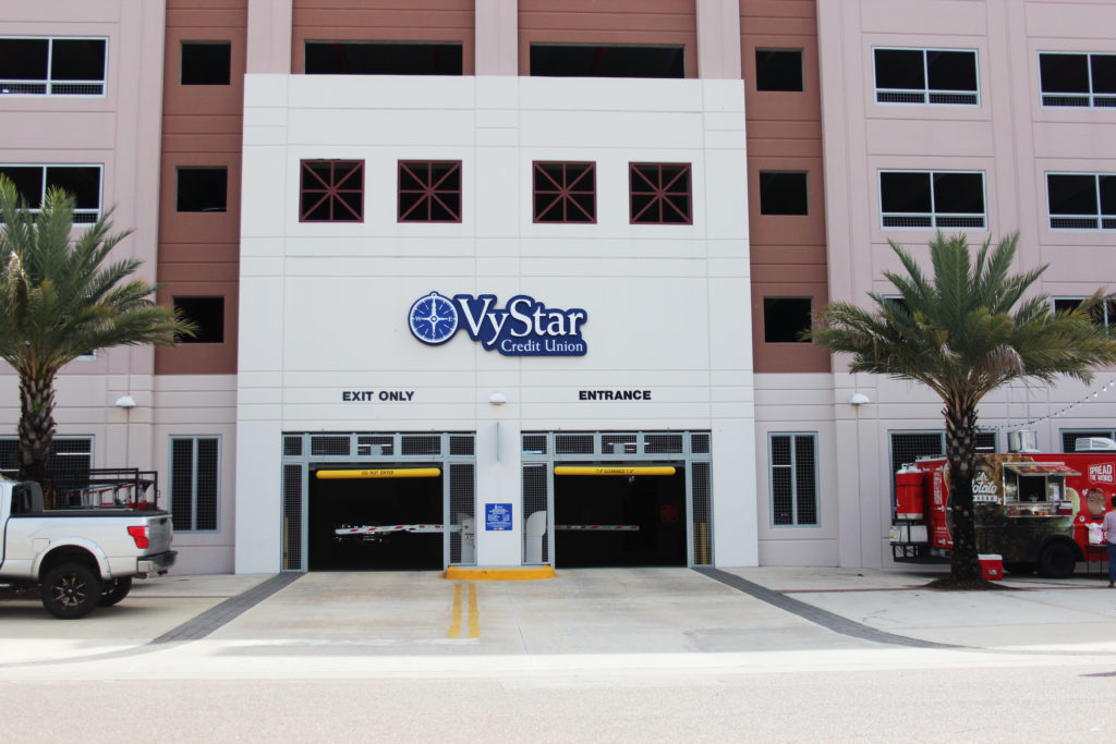 Vystar Garage Hogan St Downtown Jacksonville