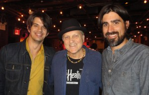 Robert with Gordy Quist & Ed Jurdi from Band of Heathens