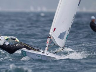 Matt Wearn headlines the upcoming Laser nationals at the Adelaide Sailing Club. Photo: onEdition