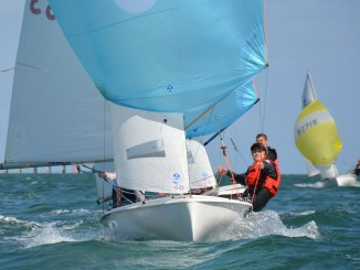 Matt Meaney and Sam Magarey headline the strong 420 fleet at this year's SA Youths. Photo: Down Under Sail