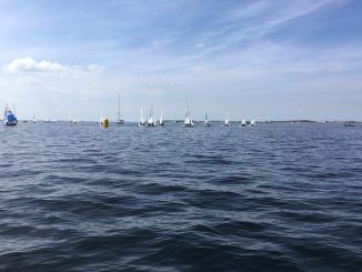 Light conditions are creating challenges for the Cadet sailors at the Worlds in Bruinisse.