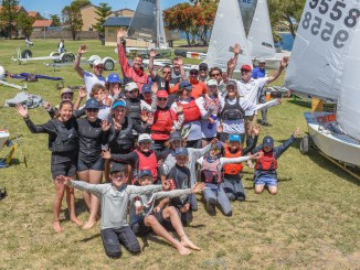 The Sharpies joined forces with the International Cadets for the 2017 West Lakes Regatta.