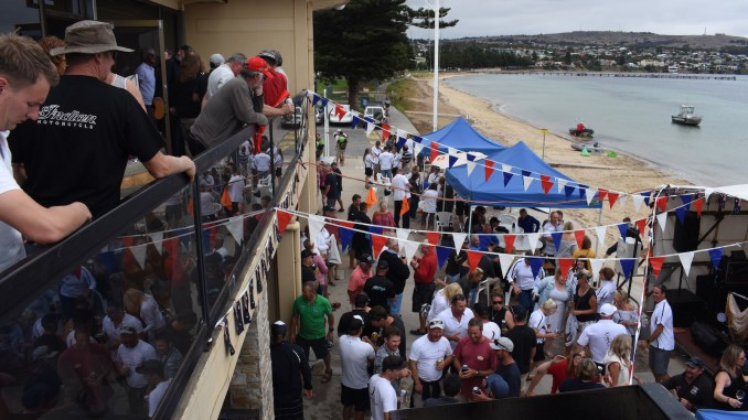 The Adelaide to Port Lincoln Yacht Race presentation is always a great day.