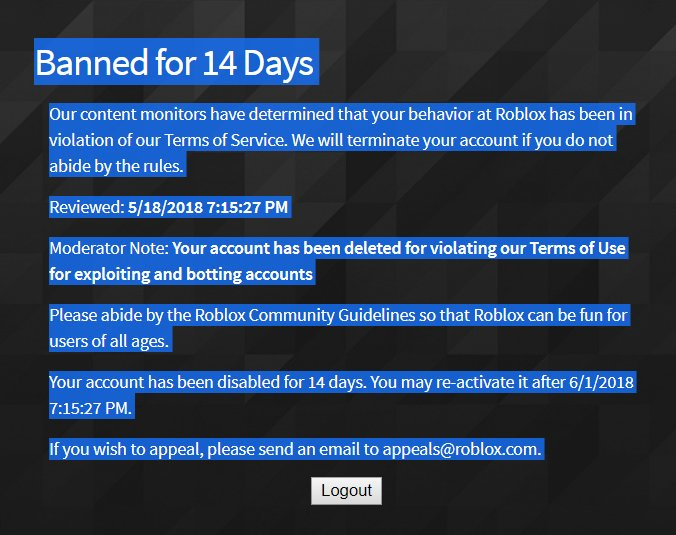 Roblox\u0027s Moderation Needs To Be Fixed - Web Features - Roblox