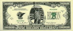 Billion-dollar-bill