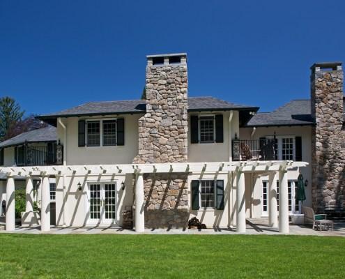 Doyle coffin architecture ridgefield ct country villa for Adam broderick salon ridgefield ct